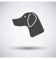Hunting dog had vector image