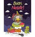 Italian Santa Claus - Befana vector image