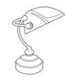 office lamp vector image vector image