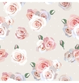 seamless roses background vector image vector image