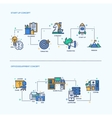 Start Up Office Equipment Business Concept vector image