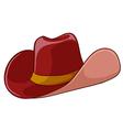A cowboys hat vector image vector image