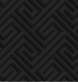 Black textured plastic rectangle spirals fastened vector image
