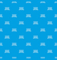 fence iron pattern seamless blue vector image vector image
