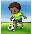 Soccer vector image vector image