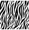 zebra seamless pattern design colorful fashion vector image