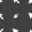 arrow cursor computer mouse icon sign Seamless vector image