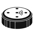 ai smart speaker icon simple style vector image vector image