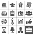 Business career icons set - simplus series vector | Price: 1 Credit (USD $1)