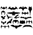 different bats vector image vector image