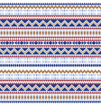 ethnic seamless patterns aztec geometric vector image vector image