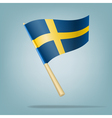 Flag of Sweden vector image vector image