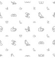 hope icons pattern seamless white background vector image vector image