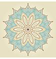 Mandala Beautiful hand drawn flower vector image vector image