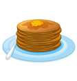 Pancakes vector image vector image