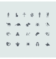 Set of Egypt icons vector image vector image
