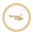Thickness Rope Frames or Borders Circle
