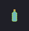 water bottle computer symbol vector image vector image