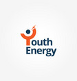 youth logo sign symbol icon vector image