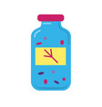 bird food container icon in flat style vector image