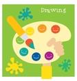 Children creativity and art development vector image vector image