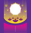 festive sale diwali banner vector image