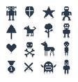 Game Pixel Characters vector image vector image