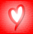 heart cover vector image