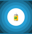 isolated drink flat icon beverage element vector image vector image