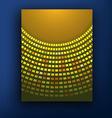 New orange sunburst business background vector image