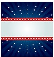 star spangled banner vector image vector image