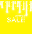 supper sale speed icon on the yellow background vector image vector image