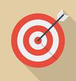 Target arrow vector image