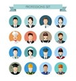 a set professions people vector image