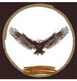 Eagle 4 vector image