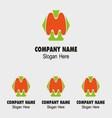 M alphabet logo letter M icon vector image vector image
