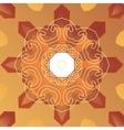 Oriental cover design Stylized vignette on vector image vector image