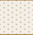 seamless traditional japanese ornament vector image vector image