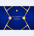 abstract blue background in premium indian style vector image vector image