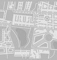 abstract city map black and white vector image