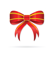 bow red vector image vector image