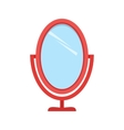 Brush and Mirror vector image vector image