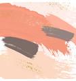 brush stroke pastel liquid marble texture grunge vector image vector image