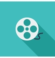 Icon reel of film vector image