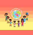 international day of african child commercial vector image vector image