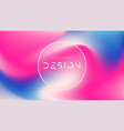 abstract colorful background trendy vector image vector image