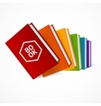 Book Stack vector image vector image