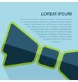 bow-tie icon Eps10 vector image vector image
