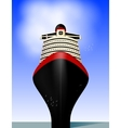 Cruise liner vector image vector image