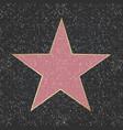 fame star vector image